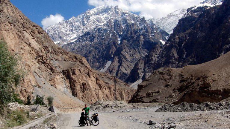 Auf dem Karakorum Highway in Pakistan.