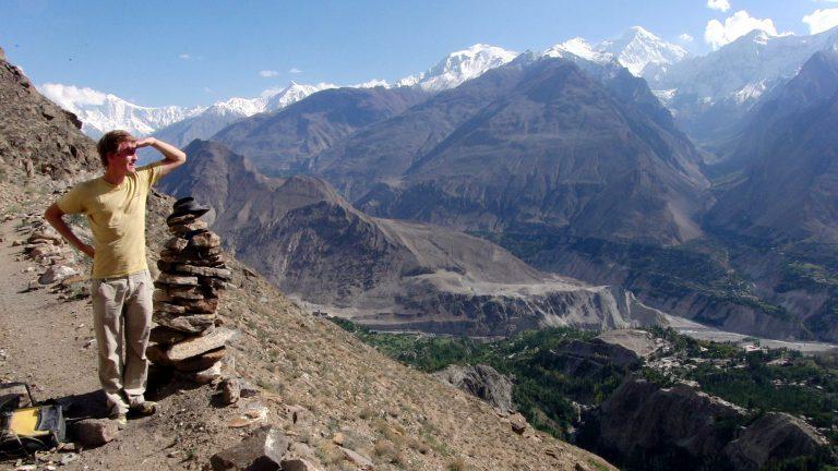 Blick über das Hunza Valley