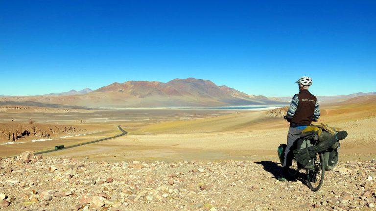 Schlafplatzsuche auf 5000m in Bolivien