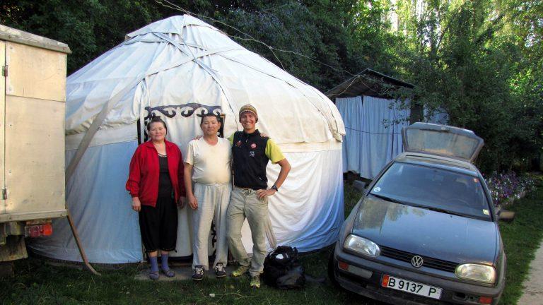 Zu Gast bei Bauern in Kirgistan